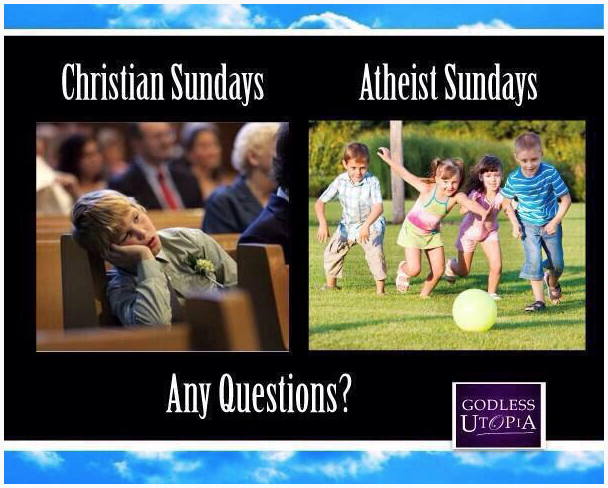 Atheists vs. Christians?